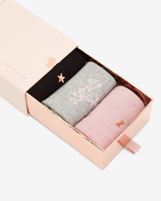 Ted Baker JANII Cotton sock gift set