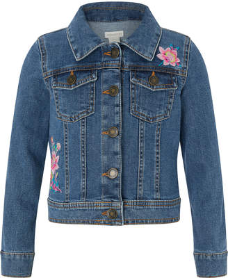 Monsoon Farrah Flamingo Denim Jacket