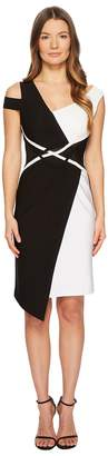 Yigal Azrouel Asymmetric Mechanical Stretch Dress with Coiling