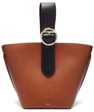 Joseph Sevres Buckle Handle Leather Bag - Womens - Tan