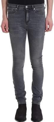 Neil Barrett Super Skinny Grey Denim Jeans