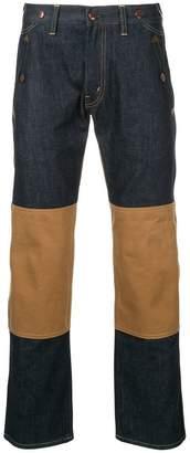 Junya Watanabe MAN Comme Des Garcons Man x Carhatt stripe detail jeans