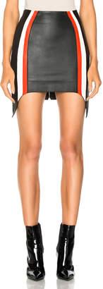 Thierry Mugler Soft Nappa Leather Skirt