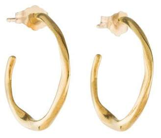 Pre Owned At Therealreal Ippolita 18k Small Hoop Earrings