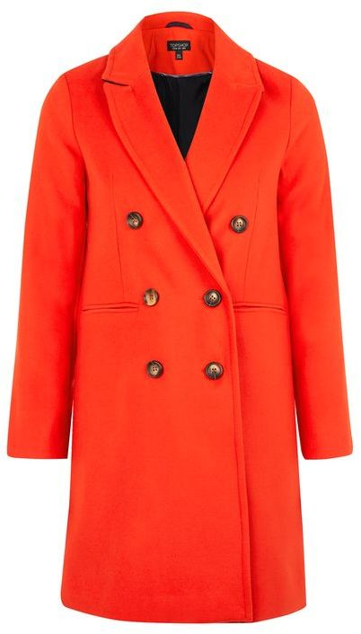 TopshopTopshop Slim fit double breasted coat