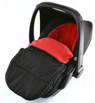 For Your Little One Car Seat Footmuff/Cosy Toes Compatible with Kiddy New Born Car seat Fire Red