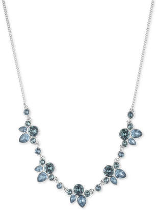 """Givenchy Crystal & Stone Collar Necklace, 16"""" + 3"""" extender"""