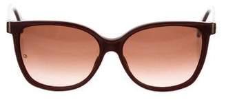 Giorgio Armani Logo Oversize Sunglasses