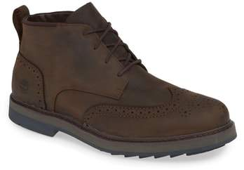 Timberland Squall Canyon Waterproof Wingtip Chukka Boot