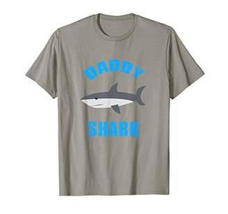 Mens Mens Funny Daddy Shark Shirt - Daddy Shark Tshirts
