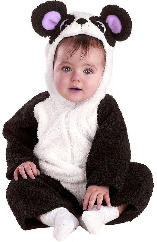 Petite panda costume