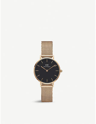 Daniel Wellington DW00100217 Melrose Classic petite rose gold-plated watch