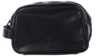 Dolce & Gabbana Leather Toiletry Bag