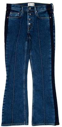 Cotton Citizen Cropped Mid-Rise Jeans w/ Tags