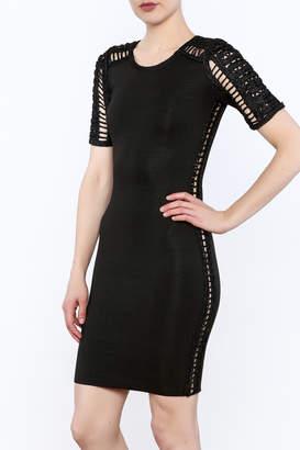 Heiress Boutique Black Bandage Dress
