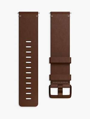 Fitbit Ionic Leather Wristband, Small, Cognac