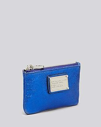Marc by Marc Jacobs Key Pouch - Metallic Blue