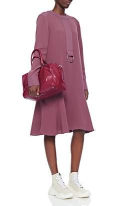Tibi Lightweight Triacetate Drop Waist Dress