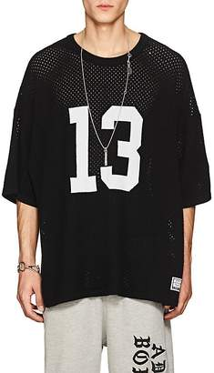 ADAPTATION / BORN X RAISED Men's Perforated Cashmere Sweater