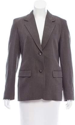 Max Mara Wool Structured Blazer