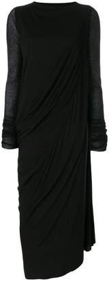 Rick Owens Lilies draped maxi dress