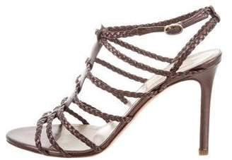 Valentino Woven Cage Sandals