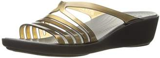 crocs Women's Isabella Mini W Wedge Sandal $31.95 thestylecure.com