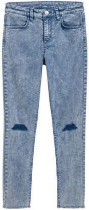 H&M Super Slim-fit Pants - Blue
