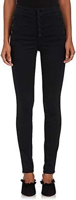 J Brand Women's Nastasha Sky High Skinny Jeans - Black