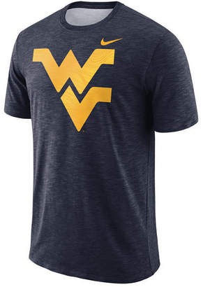 Nike Men's West Virginia Mountaineers Dri-fit Cotton Slub T-Shirt
