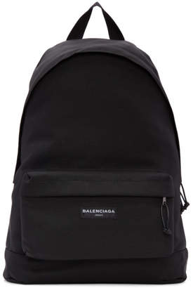 Balenciaga Black Explorer Backpack
