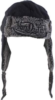 Von Dutch Morehats Authentic Knit Trapper Beanie Winter Ski Warm Hat with String