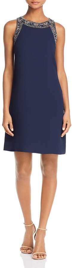 Embellished Shift Dress - 100% Exclusive