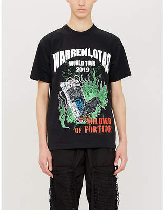 Selfridges Warren Lotas World Tour crewneck cotton-jersey T-shirt