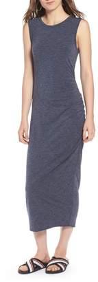 Treasure & Bond Sleeveless Side Ruched Dress