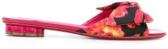 Salvatore Ferragamo floral print sandals
