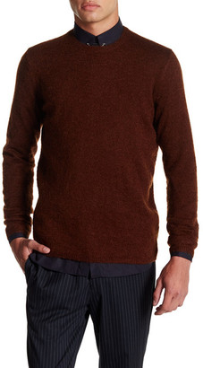 The Kooples Blended Crewneck Sweater $225 thestylecure.com