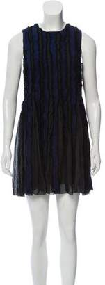 Proenza Schouler Frayed Silk Dress