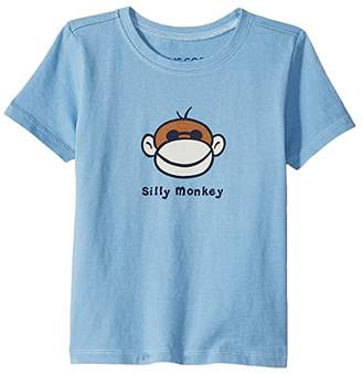 Life is Good Silly Monkey Crushertm Tee (Toddler)
