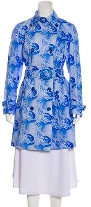 Allegri Printed Trench Coat w/ Tags
