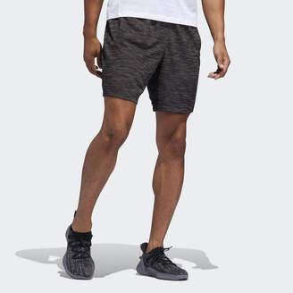 adidas 4KRFT Sport Striped Heather Shorts