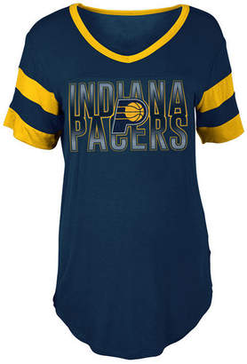 5th & Ocean Women's Indiana Pacers Hang Time Glitter T-Shirt