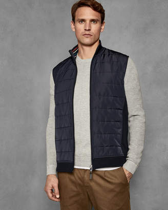 Ted Baker FLIE Quilted jersey gilet