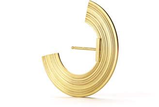 "Aka Jewellery Wide Radius Lobe Earrings ""Orbit"""