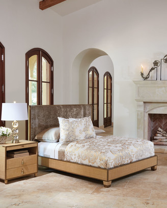 Global Views Ann Gish For D'Oro Queen Bed