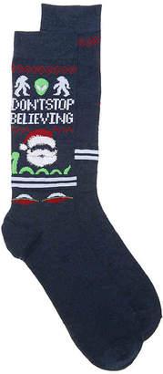 High Point Design Don't Stop Believing Crew Socks - Men's