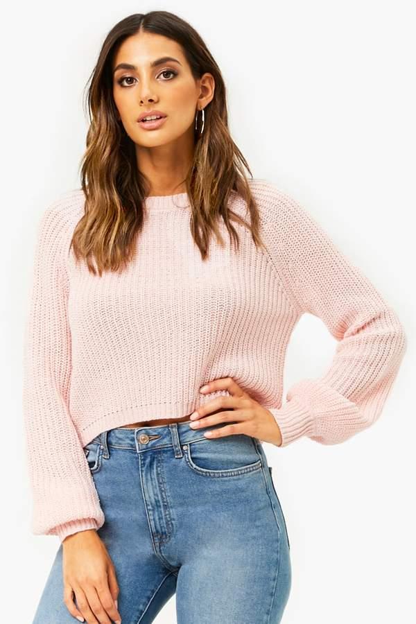 Forever 21 Marled Raglan Sweater