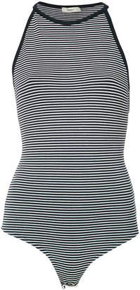 Egrey striped knit body