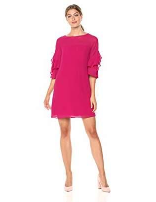 Vince Camuto Women's Soufle Chiffon Shift Dress