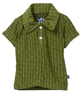 Kickee Pants Print Short Sleeve Polo (Baby & Big Boys)